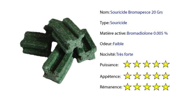 Souricide-bromapesce-20-grs